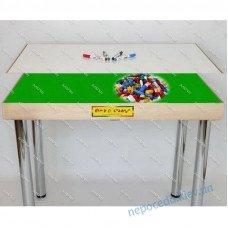 Стол для работы с конструктором демонстрационный (трансформер 2в1)