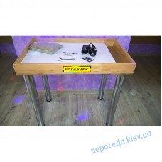 Сенсорный стол для рисования песком с отсеком для песка