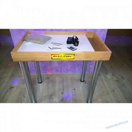 Стол для рисования песком со съемными хромированными ножками