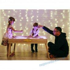 Сенсорный стол с подсветкой для рисования песком