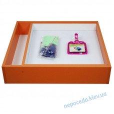 Детский световой планшет из ДСП оранжевый