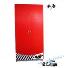 Шкаф (серия Форсаж) в комнату мальчика