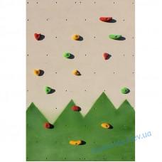 Дитячий скалодром «Лісок» для ігрової зони Kidigo