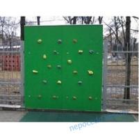 Дитячий вуличний cкалодром «Скала» зелений колір