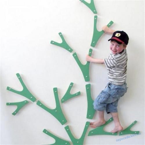Детский скалодром «Веточки» для игровой комнаты