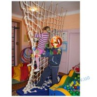 Сетка лестница подвесная 250см