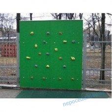 Детский уличный cкалодром «Скала» зелёный цвет