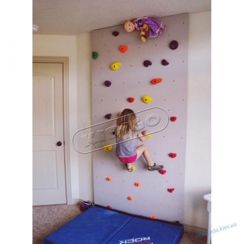 Детский скалодром для игровой комнаты «Скалолаз»