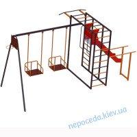 """Детский спортивно игровой комплекс для улицы """"Титан"""" + горка + качели .."""