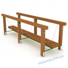 Детский игровой мостик на цепях Маятник