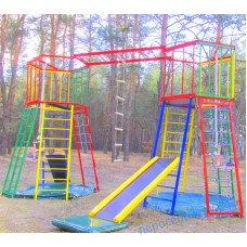 """Детский спортивно-игровой комплекс для улицы """"Две башни"""""""