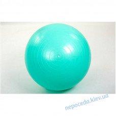 Мяч-фитбол гладкий глянцевый мятный