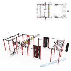 Гімнастичний комплекс S-60 боксерською грушею