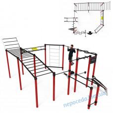 Обладнання для вуличних спортивних майданчиків S-25, бруси, турніки, комплекси