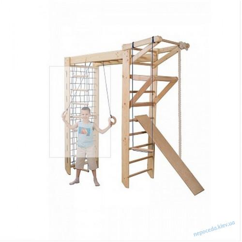 Детский спортивный уголок из сосны Sport 5-240