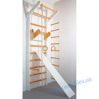 Шведская стенка Сосна бело-оранжевый (полный)