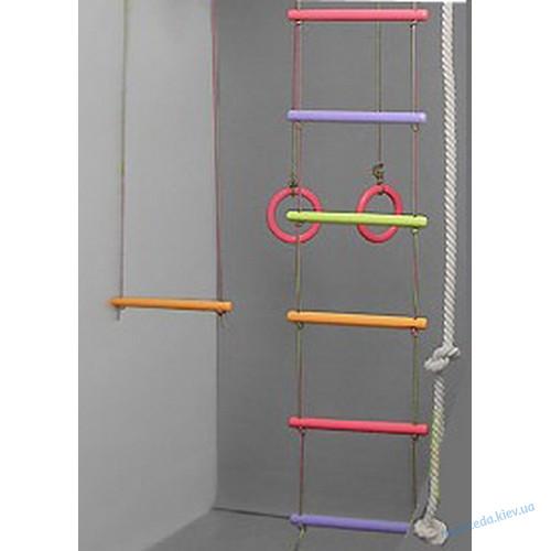 Premium  Цветная гимнастическая стенка