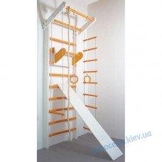 Шведська стінка Сосна біло-помаранчевий (повний)