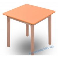 Столик Бук 3 оранжевый 55см