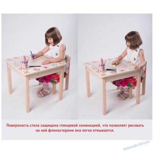 Стол парта детская трансформер Креатив