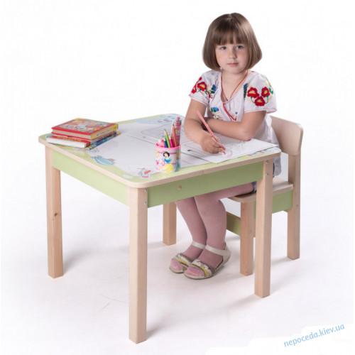 Столик парта детская трансформер Креатив