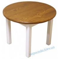 Детский столик круглый деревянный Эскимо
