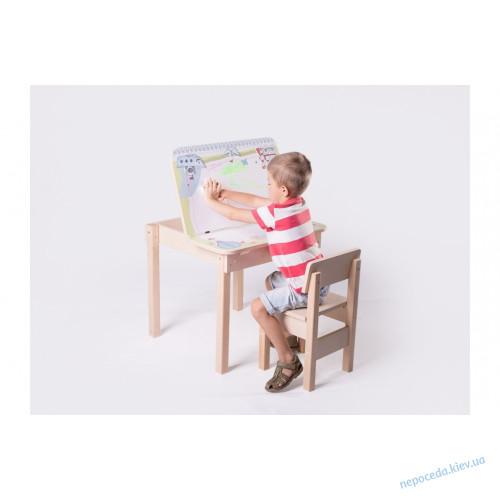 Детский столик и стульчик (с корабликом) трансформер