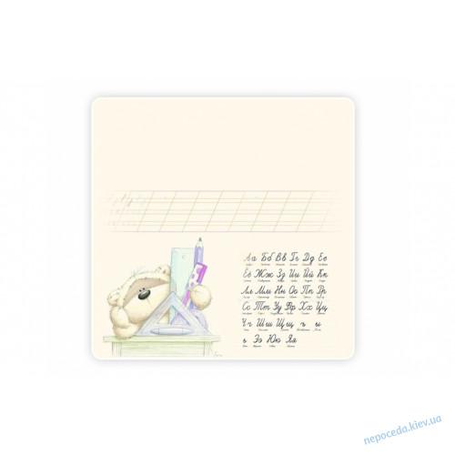 Стол-парта для рисования с мишкой и алфавитом