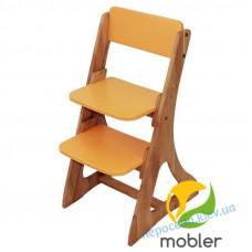 Дитячий універсальний регульований стілець (помаранчевий)