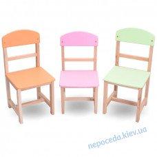 Дитячий стілець Бук 28см в асортименті