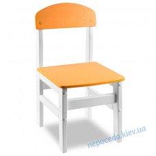 """Универсальный стульчик """"Woody"""" белого цвета"""