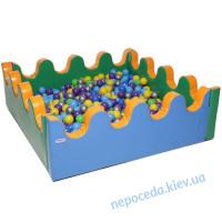 Сухой сенсорный бассейн Море 150