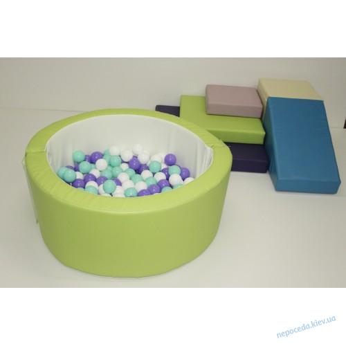Игровой набор с горкой и бассейном