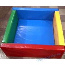"""Сухой бассейн - """"Квадратный манеж"""" 120см или 150см"""