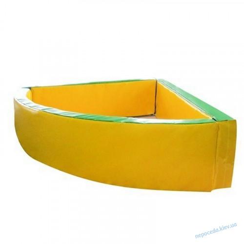 Сухой бассейн Угловой 130*130*40 см