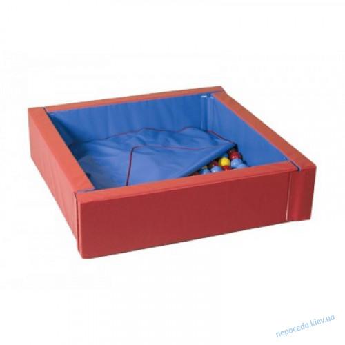 Сухой бассейн с матом 110х110 см