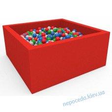 Сухой бассейн с шариками Lucky Квадратный 100см