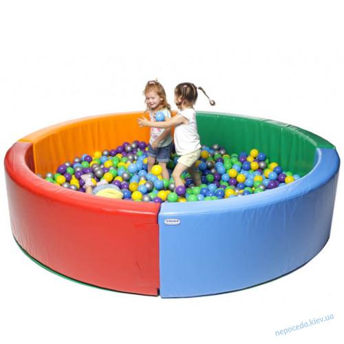 """Детский сухой бассейн """"Круг"""" 2,5 м"""