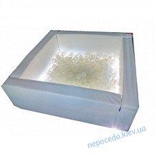 Сухой бассейн Светотерапия квадратный