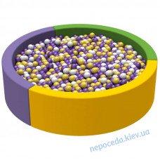 Мягкий бассейн с шариками Круг 1,5 ПВХ