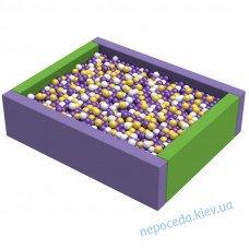 Сухой детский бассейн Прямоугольник 1,5