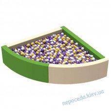 Мягкий бассейн с шариками Угол 1,8