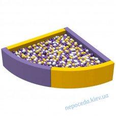 Сухой бассейн для детей Угол 1,5