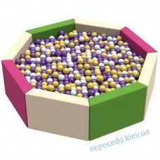 Сухой детский бассейн Восьмигранник 1,5 ПВХ