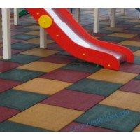 Травмобезопасное покрытие для детских игровых и других площадок