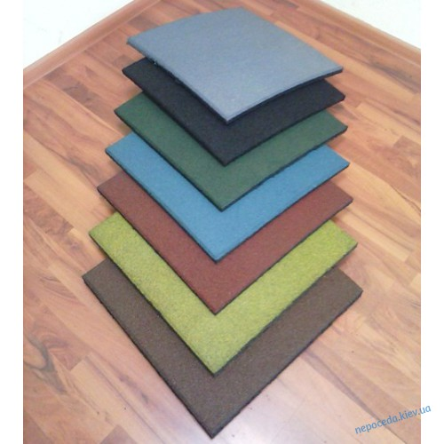 Резиновая плитка для детской площадки