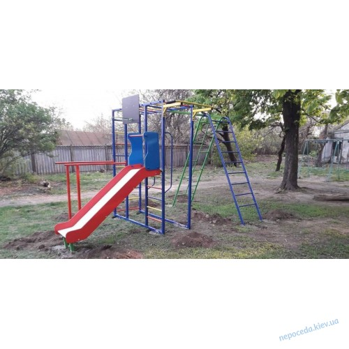 Детская площадка Качели Горка Карусель Пружинка Проект №5