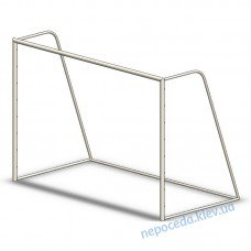 Футбольні ворота без сітки (вуличні)