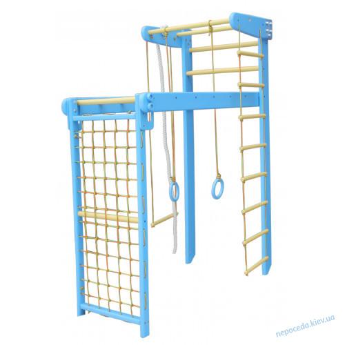 Шведская стенка трансформер для детей 210см в сосне Strong Козачок Стандарт