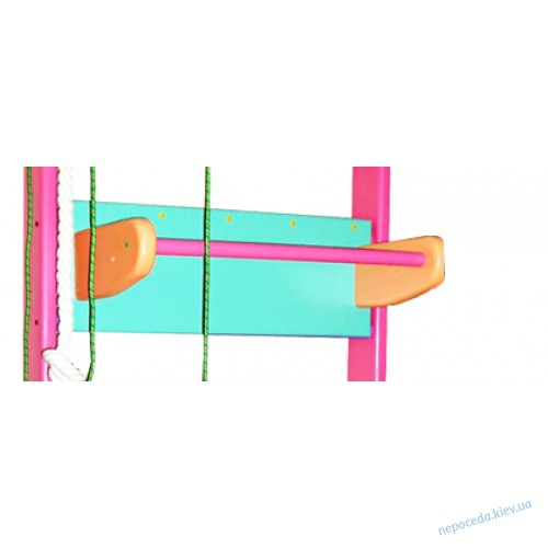 """Шведская стенка трансформер для детей 210см в сосне Strong """"Для девочки"""" Стандарт"""